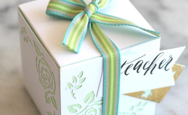 Springtime Flower Paper Gift Boxes Sparkle Living Blog