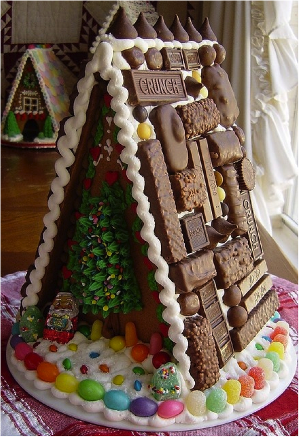 Unique Decorating Ideas For Gingerbread Houses House Interior