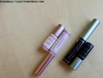 sparkleoflight mini collection glue dark adhesive glue clear white of lashes mini size hol comparison review false