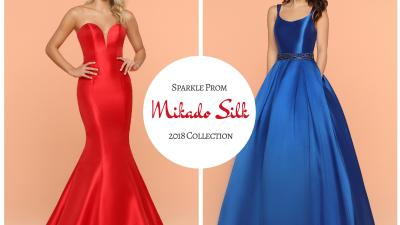 Sparkle Prom Girl Fabric Guide: Mikado Silk Prom Gowns