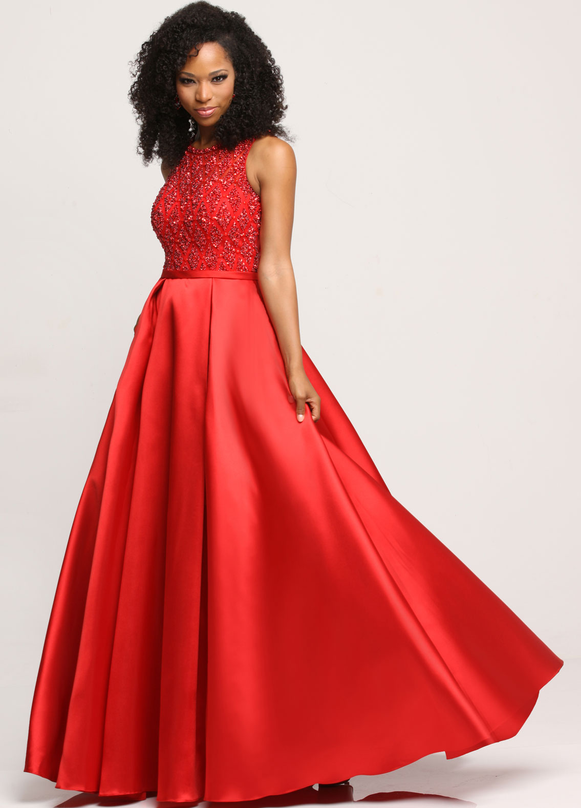 Winning Pageant Gowns for 2018 in Red