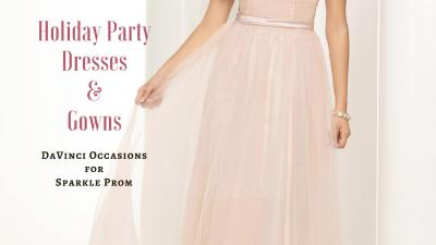 Sequin & Chiffon Holiday Party Dresses & Gowns – Sparkle Prom Fashion Blog
