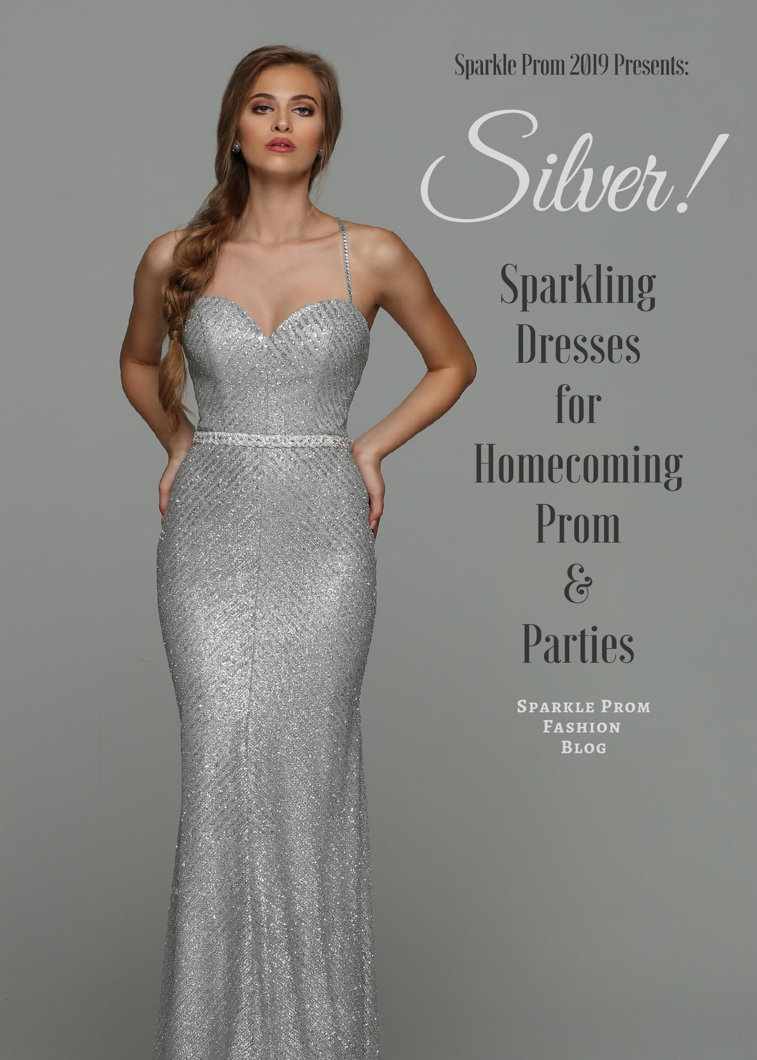 Silver Prom Dresses for 2019 – Sparkle Prom Fashion Blog