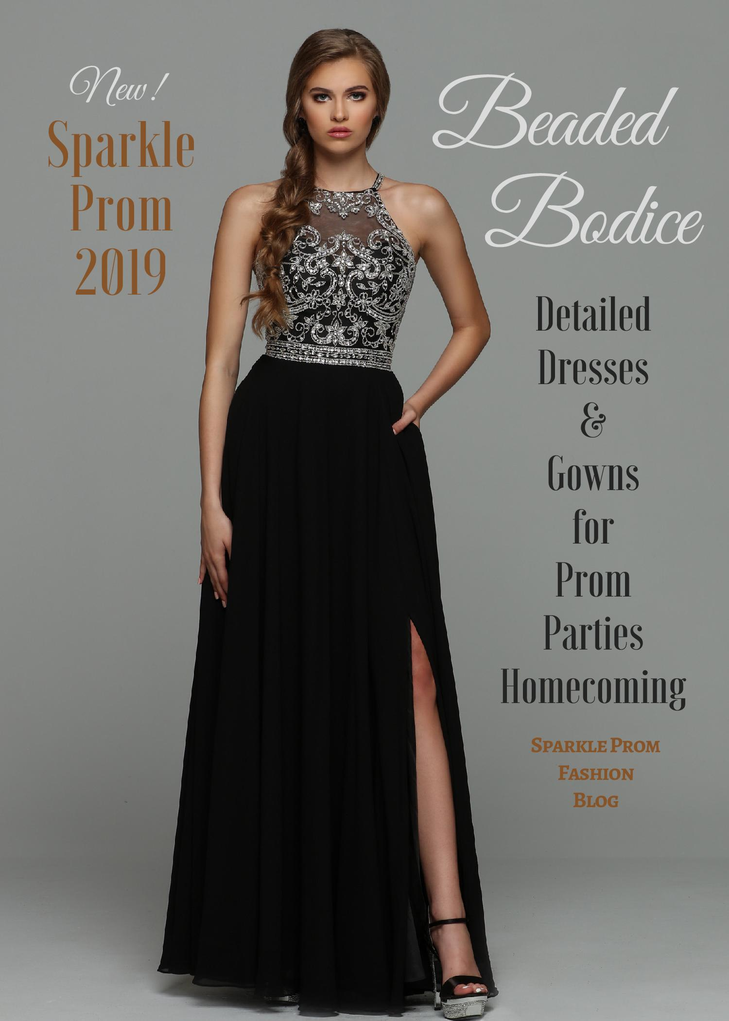 Sparkle Prom Night Beaded Bodice Dresses for 2019 – Sparkle Prom Fashion Blog