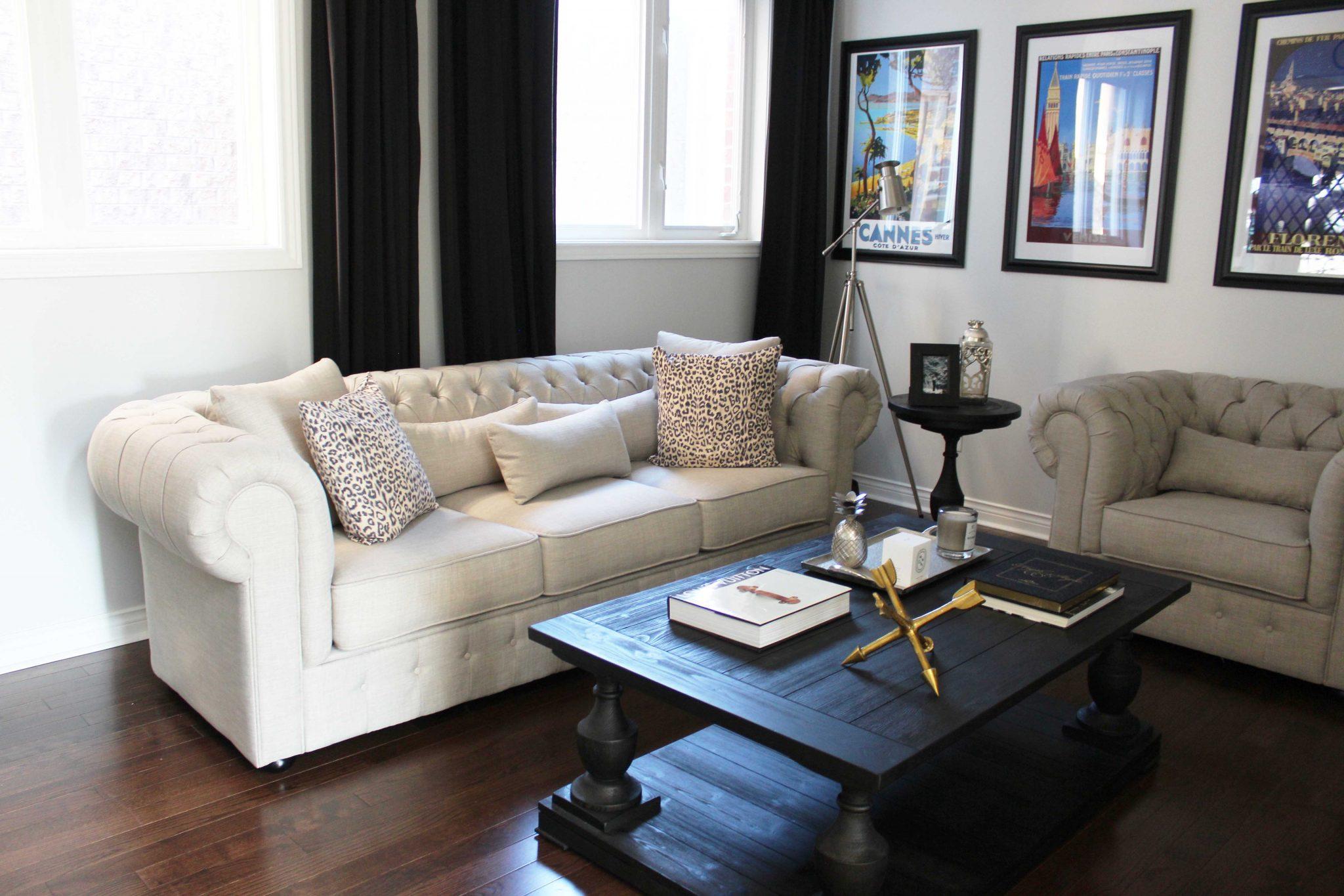 Decorating My Living Room with Wayfair Canada   sparkleshinylove