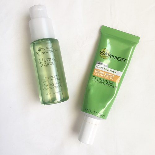 Garnier Clearly Brighter Products
