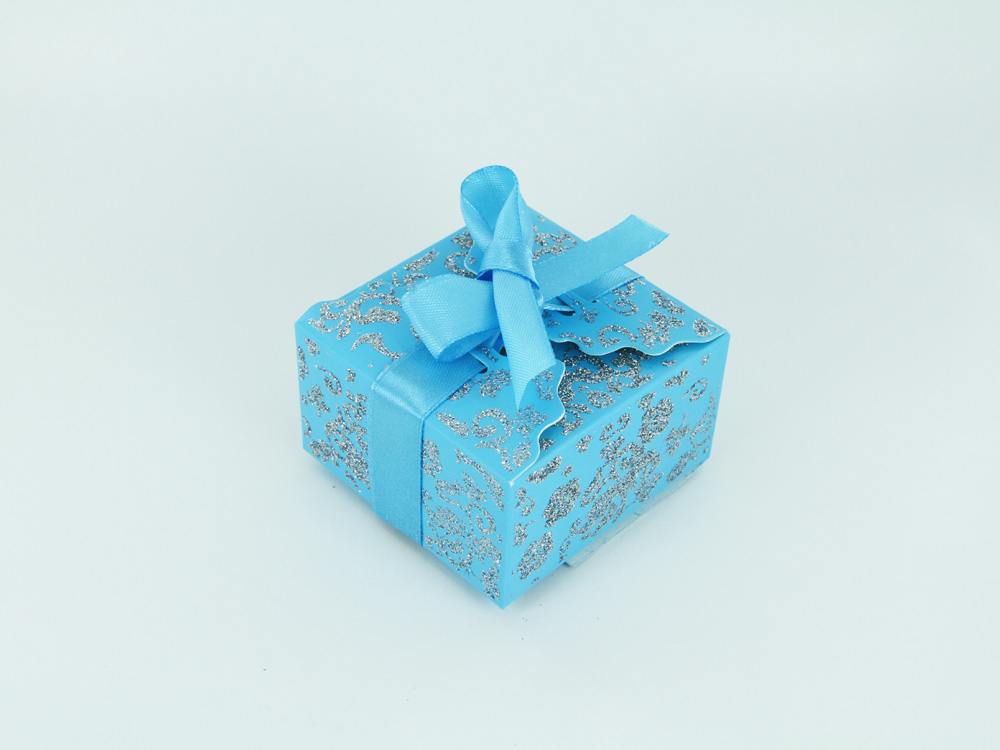 100 Small Ribbon Wedding Favor Gift Boxes Baby Shower