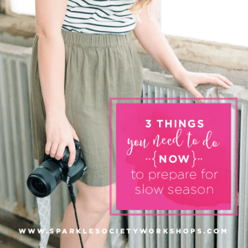 Slow Photography Season