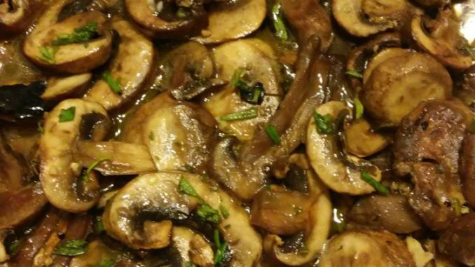 Recipe for Grilled Mushrooms - These healthy grilled mushrooms are so easy to make, and they are beyond tasty. Good luck getting them to the table, they just might disappear before making it that far!