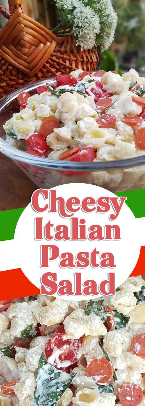 Cheesy Italian Pasta Salad