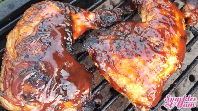 "This Cajun Marinated BBQ Chicken recipe is an all-time favorite and the very definition of ""winner winner chicken dinner""!"