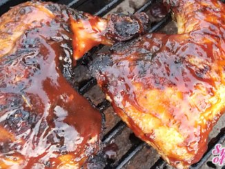 """This Cajun Marinated BBQ Chicken recipe is an all-time favorite andthe very definition of """"winner winner chicken dinner""""!"""