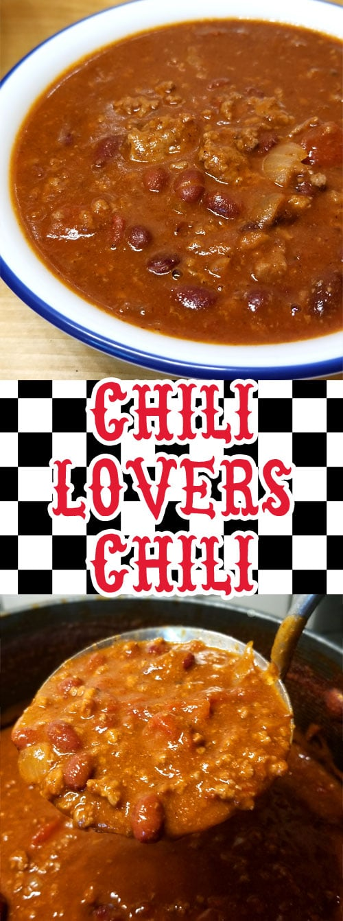 We are pretty passionate about our Chili around here, this my friends is my contribution to the Chili world; enter my \