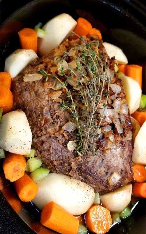 Fancy Yankee Pot Roast – Crock Pot