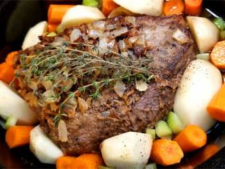 When thinking about comfort food, there is nothing more comforting than a savory, succulent, and satisfying Fancy Yankee Pot Roast.