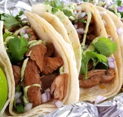 Carne Adovada Street Tacos   New Mexico-Style Pork Tacos