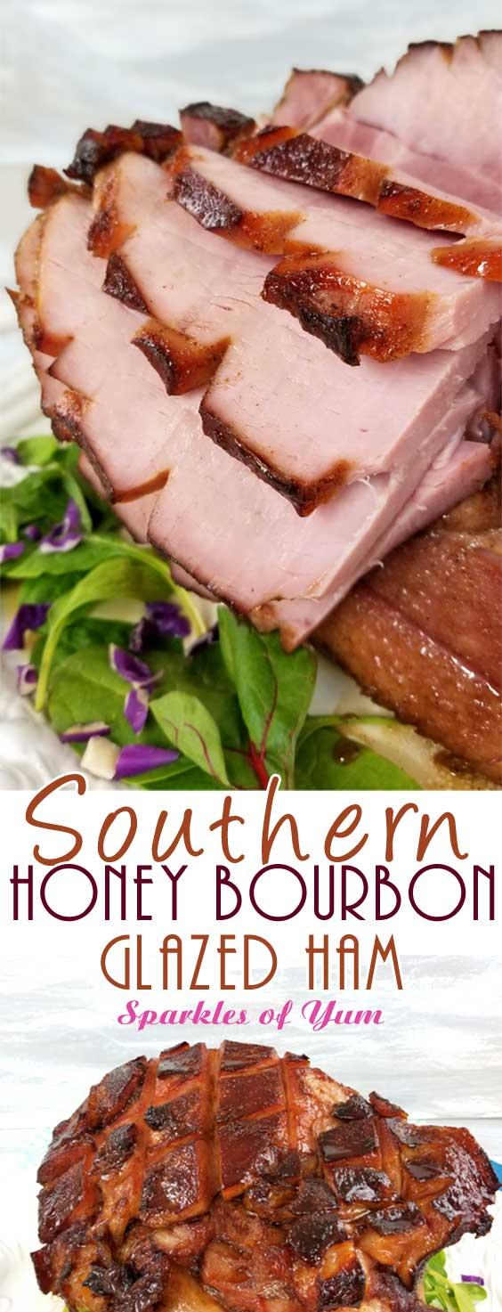 Southern Honey Bourbon Glazed Ham