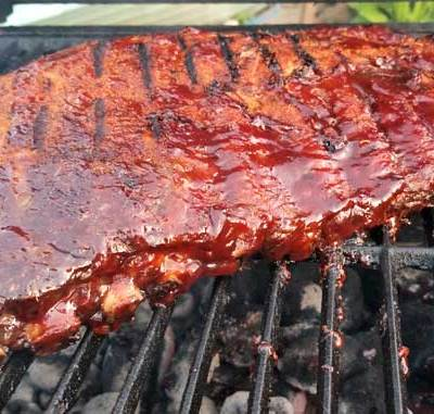 These BBQ ribs are saucy and juicy with non-stop flavor, all the way down to the bone. That's how ribs are suppose to be in my book!