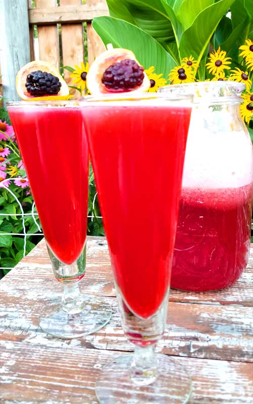 A summer favorite, Blackberry Bourbon Lemonade. A glass or two of this, a big shade tree, and a cool breeze are all you need to make your day complete. What a way to chill out on a hot day.