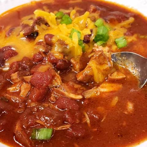 Kansas City Style Pulled Pork Chili