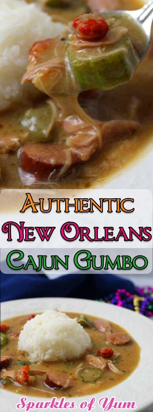 Authentic New Orleans Cajun Gumbo