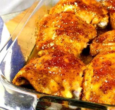 Cajun Apricot Glazed Chicken