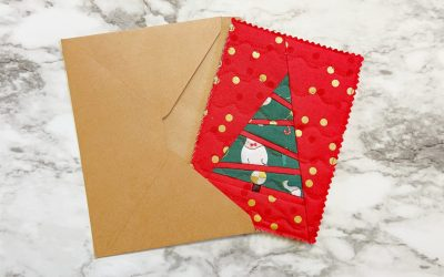 How To: Make A Quilted Card Holder