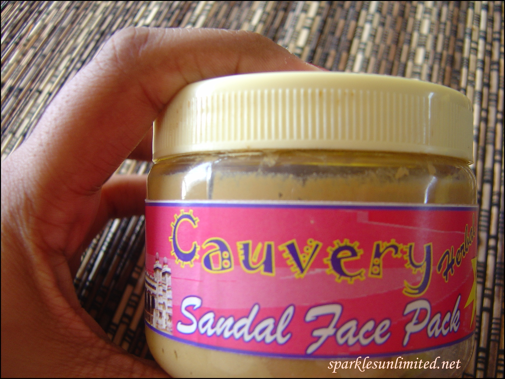 Cauvery Herbal Sandal Face Pack Review Sparkles Unlimited