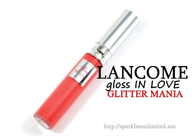 Lancome Gloss In Love 144 GLITTER MANIA,Lancome Gloss In Love 144 GLITTER MANIA Review,Lancome Gloss In Love 144 GLITTER MANIA Swatches,Lancome Gloss In Love,Lancome Gloss In Love Review,Lancome Gloss In Love Swatches, Lancome, Lancome Cosmetics