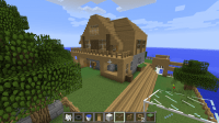 The gallery for --> The Coolest Minecraft House In The World