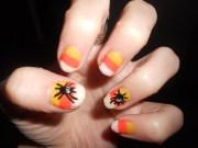 halloween nail art glitz glamour