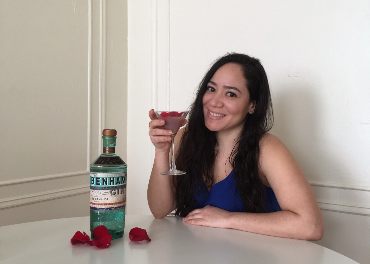 The Rose Lady - A Spring Cocktail