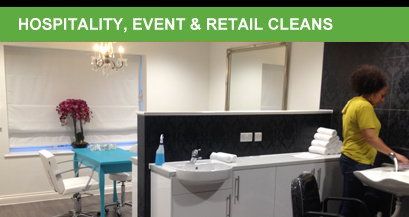 hospitality event and retail