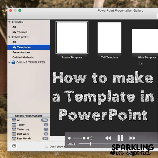template in powerpoint