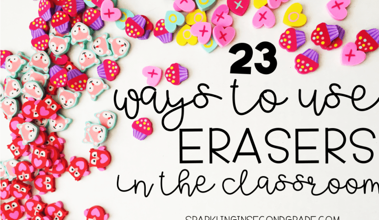 23 Ways to Use Target Dollar Spot Erasers