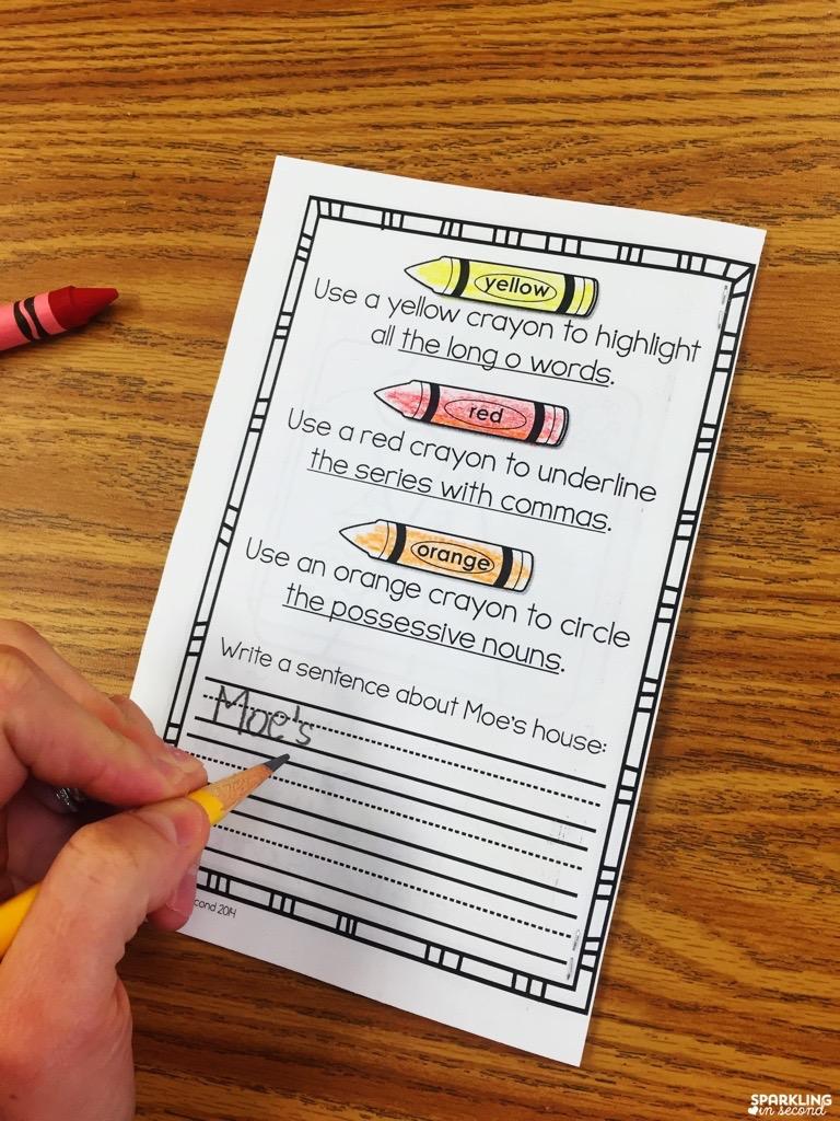 Fluency Activities - Sparkling in Second Grade [ 1024 x 768 Pixel ]
