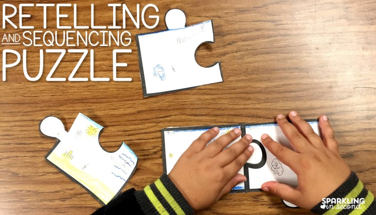 For kinder and first graders, retelling is a major standard. Here's a fun way to keep your kids learning and engaged in retelling!