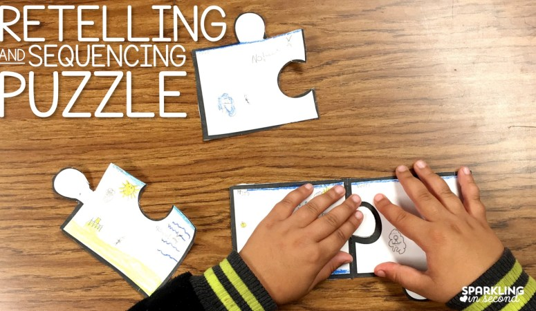 Retelling and Sequencing Puzzle