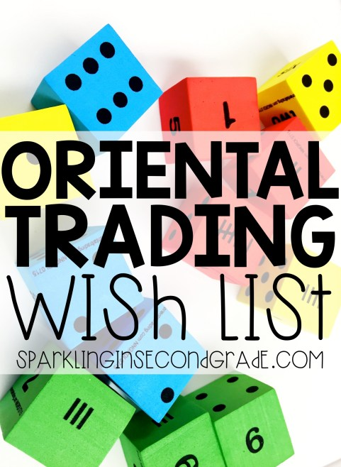 Oriental Trading Company now has a wish list feature so you can share your wish list teacher items with your school families!