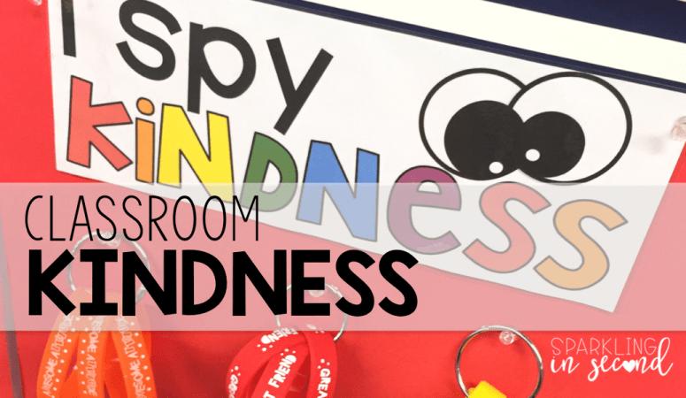 """I Spy"" Classroom Kindness"
