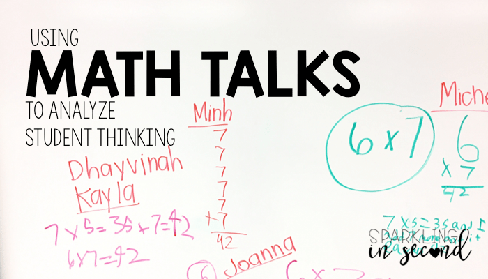 The Power of Math Talks