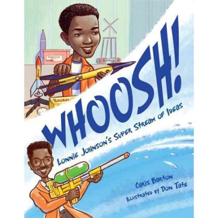 Celebrating Black History? Here are over 30 picture book titles celebrating the accomplishments of African Americans (Lonnie Johnson).