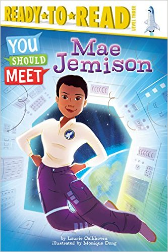Celebrating Black History? Here are over 30 picture book titles celebrating the accomplishments of African Americans (Mae Jamison).