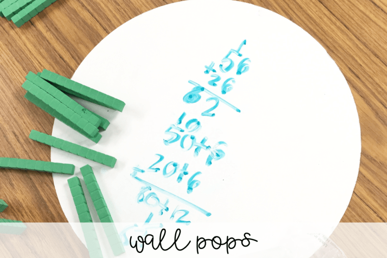 Teachers love Amazon! Here are a few teacher must-haves that you can find on Amazon for organizing any classroom! These wall pops are great for a more permanent white board.