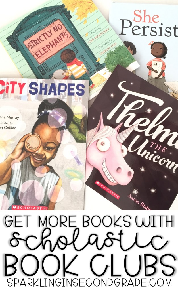 Earn free books using Scholastic!