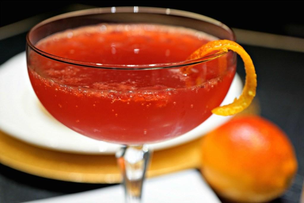 Blood Orange Champagne Cocktail Recipe