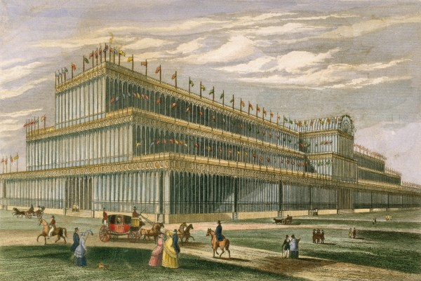 Precedent Architecture Shiny And Crystal Palace Of 1851