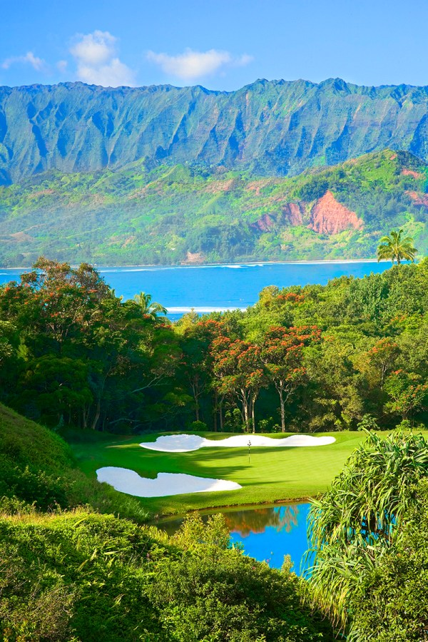 Kauai Hawaii Princeville Golf Course