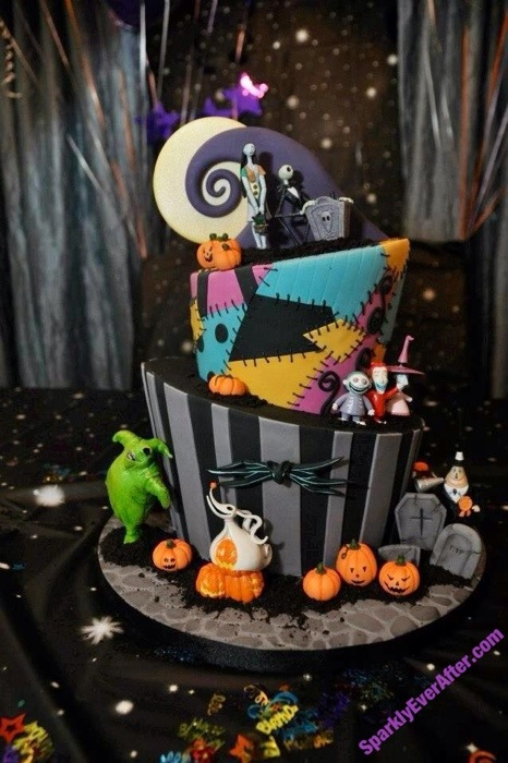 Cute Birthday Cake Wallpapers Cakes With Character The Nightmare Before Christmas
