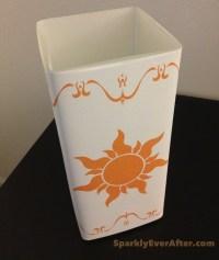 DIY Tangled Lantern Lamp - SparklyEverAfter.com